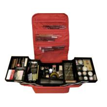 Viaje de almacenamiento cosmético duradero Polyster Bolsa