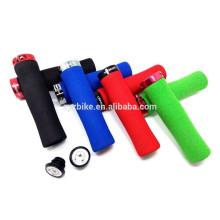 Anti-skid Sponge bicycle handle grip grip de bicicletas coloridas peças de bicicleta