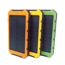 Carregador do banco da energia solar USB 20000mAh carregador portátil móvel