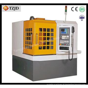 Router movente do CNC do molde de metal da tabela da elevada precisão