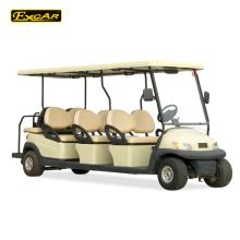 Троянский батарея 8 местный электрический гольф тележки цена тележки для гольфа электрический sightseeing автомобиль
