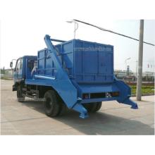 4.5ton Dongfeng Swing Arm Garbage Truck