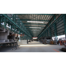 prefabricated long span steel structure storage