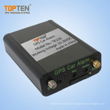 Alarme central do carro da automatização do fechamento com fala em dois sentidos, verifique o status do motor através de SMS Tk220-Ez