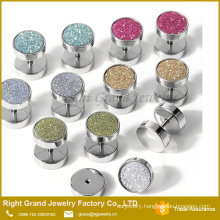 Fake Stretcher Plug Piercing Earrings Ear Plug Tunnel with