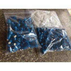 Plastic parts for twising machine