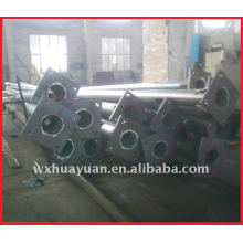 Cones steel support