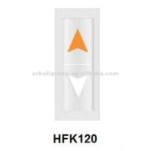 Lanterna do elevador, indicador, peças de elevação