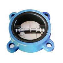 Válvula de retenção de ferro fundido / ferro fundido Flang End