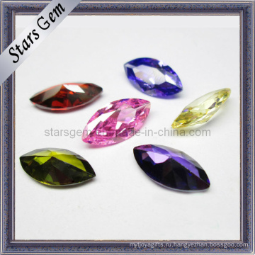 Хорошее качество Dazling многоцветный маркиз кубического циркония для ювелирных изделий