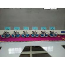 Máquina automática de Hot Fix com várias cabeças de strass para Saree, Dress e Galabia