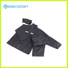 Waterproof Polyester Reflective Tape Police Raincoat Rpy-043