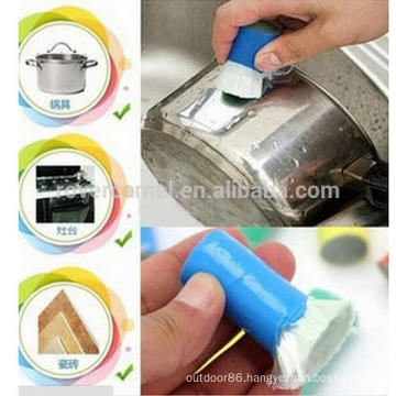Cleaning Brush Stainless Steel Brush Magic Stick Metal Rust Remover Cleaning Stick Wash Brush Pot