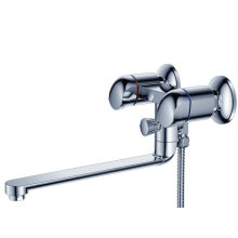 Wall Mounted Single Handle Bathtub Faucet