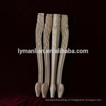 Pernas de mesa de móveis de madeira