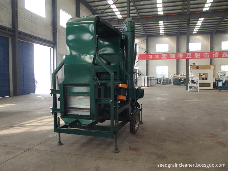 5XZC-3DS double air cleaning system seed cleaner