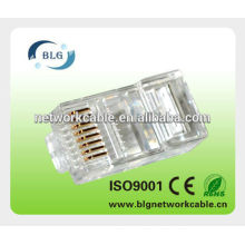UTP RJ45 FU plating 8pin network cable connector