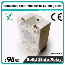 SSR-S40AA Panel Mount 40A Solid-State Electrical 240V Phase Relay