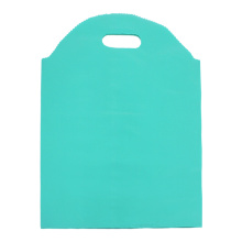 Plastic Die Cut Side Gusset Poly Bag