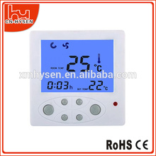 PC controlled thermostat Panel mounted With large LCD display