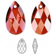 Colgantes de cristal con facetas, granos de cristal para el vestido de boda