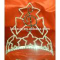 Corona del desfile del rhinestone de la nota de la música
