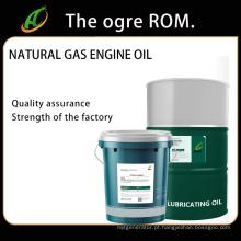 Óleo de motor a gás natural para motores de quatro tempos