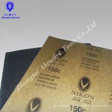 Chinesische Importe Großhandel Aluminiumoxid NIKON nassen trockenen Sandpapier