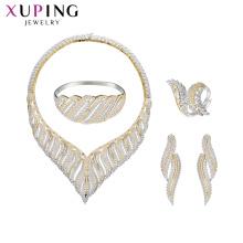 set-72 xuping bijoux fournitures chine en gros 925 argent mode femmes bijoux de luxe ensemble