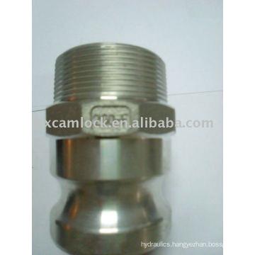 Aluminum quick release coupling Type F