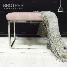 Meubles de luxe -classic chambre européenne ottoman Bed end bench