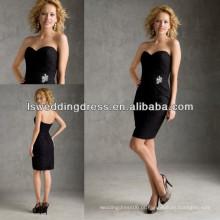 HB2035 Graciosos e apertados vestidos de dama de renda preta