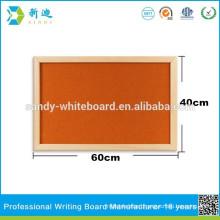 Message Memo Notice Board,Pin Cork Wood Message Memo Notice Board orange surface
