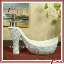 China Wholesale Fábrica de Porcelana Cerâmica Loção Dispenser Liquid Dispenser