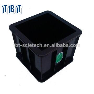 Molde plástico do cubo