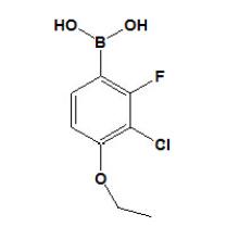 Ácido 3 - cloro - 4 - etoxi - 2 - fluorofenilborónico Nº 909122 - 50 - 5