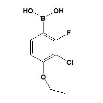 Ácido 3-cloro-4-etoxi-2-fluorofenilborónico N ° 909122-50-5
