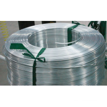 Aluminum strip for building roofing
