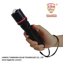 Petits chocs électriques compacts avec lampe de poche LED lumineuse