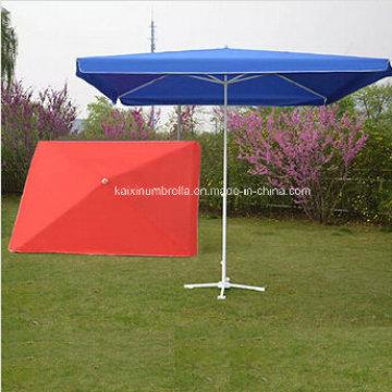 Пользовательские цвета Оксфорд Нейлоновая ткань Открытый зонтик
