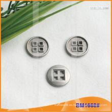 Botón de aleación de zinc y botón de metal y botón de costura de metal BM1668
