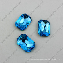 High Quality Crystal Jewelry Octagon Stones Necklace Components Manufacture