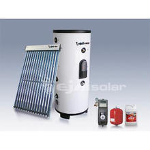solar water heater systerm with Double Heat Exchangers