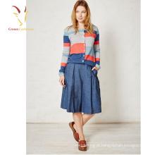 Impresso várias cores mais recentes moda baratos colhidos Cardigans