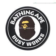 Резина сумасшедший, резиновые патч 2015 самые модные таможни логотип патч ПВХ 3D резиновый