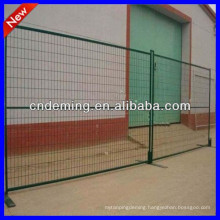 high standard galvanized/powder coated temporary fence