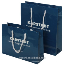 China wholesale gift shopping paper bag with handle