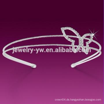 Günstige Mode Elfenbein weißes Blumenstirnband für Frauen mit Perle