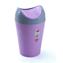 Fashion Plastic Flip-on Waste Bin