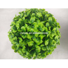 2017 yiwu wholesale artificial grass ball deccorative home indoor
